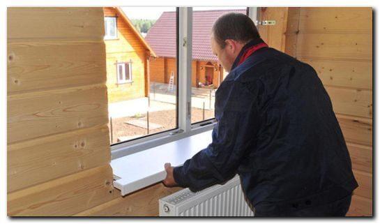Монтаж пластиковых окон в деревянном