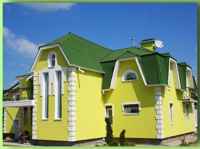 Отделка фасадов мелкозернистым декоративным покрытием
